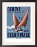 Beau Rivage Hotel Geneve Switzerland Posters