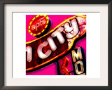 Fun City, Las Vegas Prints by  Tosh