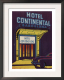 Hotel Continental Barcelona Spain Posters