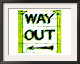 Way Out, London Prints by  Tosh