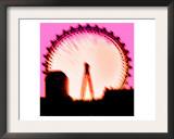 London Eye, London Print by  Tosh
