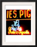 Pigale Neon, Paris Posters by  Tosh