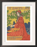 The Quartier Latin Posters by Louis Rhead