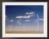 Wind Turbines for Generating Electricity, Two Buttes, Colorado, Usa, February 2006 Print by Rolf Nussbaumer