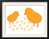 Orange Chicks Prints by  Avalisa