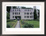 Home of John Adams and His Family, Now a National Historical Park, Quincy, Massachusetts Posters