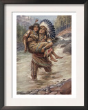 Hiawatha And Minnehaha Art by Harold Copping
