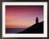 Trevose Lighthouse at Sunset, Near Padstow, Cornwall, Uk. July 2008 Posters by Ross Hoddinott