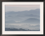 The Andalucian Campagna Near Montellano at Dawn, Andulacia, Spain, Febraury 2008 Prints by Niall Benvie