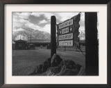 Entrance to Manzanar Relocation Center Art