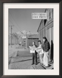 Roy Takeno, Editor, and Group, Manzanar Relocation Center, California Posters