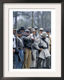 Confederate Infantry Preparing to Attack, Shiloh Battlefield, Tennessee Prints
