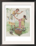 Hanging The Clothes Posters by Mildred Lyon Hetherington