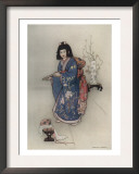 The Flute Prints by Warwick Goble