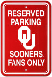 University of Oklahoma Parking Sign Wall Sign