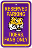 Louisiana State University (LSU) Parking Sign Wall Sign