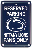 University of Penn State Parking Sign Wall Sign
