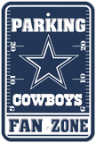 Dallas Cowboys Parking Sign Veggskilt