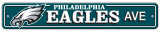 Philadelphia Eagles Street Sign Wall Sign