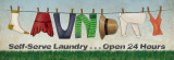 Laundry Poster by N. Harbick