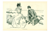 Gibson Girls His Vacation Over 1902 Poster