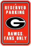 University of Georgia Parking Sign Vægskilt