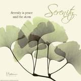 Serenity Ginko Print by Albert Koetsier