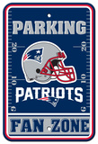 NFL New England Patriots Parking Sign Wall Sign