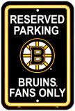 Boston Bruins Parking Sign Panneaux et Plaques