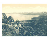 Beautiful Lake Tahoe 1915 Print