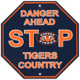 University of Auburn Stop Sign Wall Sign