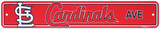 St. Louis Cardinals Street Sign Wall Sign