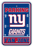 New York Giants Parking Sign Wall Sign