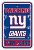 New York Giants Parking Sign Veggskilt