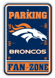 Denver Broncos Parking Sign Wall Sign