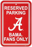 NCAA University of Alabama Parking Sign Wall Sign