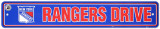 New york Rangers Street Sign Panneaux et Plaques