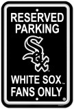 Chicago White Sox Parking Sign Wall Sign