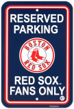 NFL Boston Red Sox Parking Sign Wall Sign