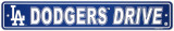 Los Angeles Dodgers Street Sign Wall Sign