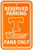 NCAA University of Tennessee Parking Sign Wall Sign