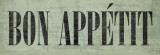 Bon Appétit III Print by N. Harbick