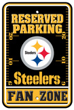 NFL Pittsburgh Steelers Parking Sign Cartel de pared