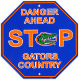 University of Florida Stop Sign Wall Sign