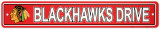 Chicago Blackhawks Street Sign Placa de parede