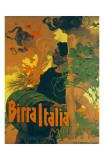 Birra Italia Milano Posters by Adolfo Hohenstein