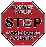University of South Carolina Stop Sign Wall Sign
