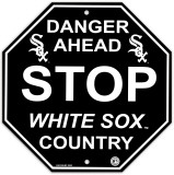 Chicago White Sox Stop Sign Wall Sign