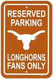 University of Texas Parking Sign Wall Sign