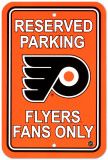 Flyers Parking Sign